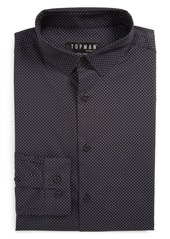 Topman Dot Dress Shirt