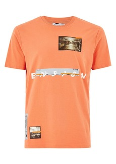 d3e1d8e8296b0a On Sale today! Topman Topman AAA Collection Distressed T-Shirt