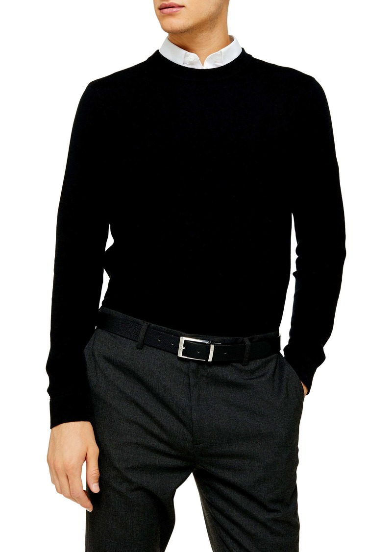 Topman Essential Classic Fit Crewneck Sweater