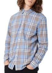 Topman Faded Plaid Shirt