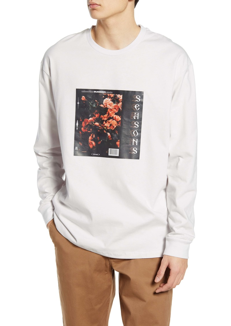 Topman Floral Graphic Tee