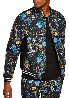 Topman Floral Track Jacket