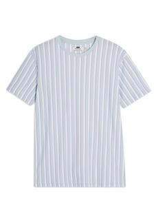 Topman Frank Stripe Piqué T-Shirt