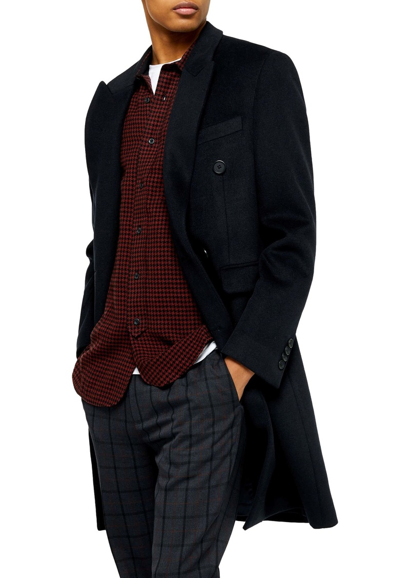 Topman Fraser Double Breasted Coat