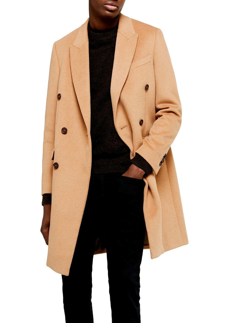 Topman Frazer Double Breasted Coat