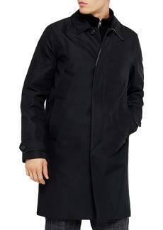 Topman Fred Classic Fit Twill Car Coat