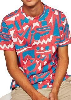 Topman Geo Print T-Shirt