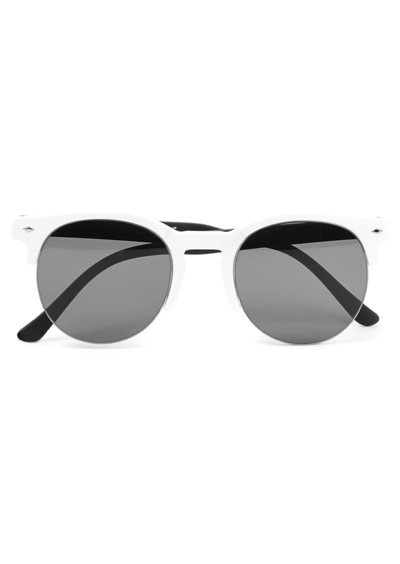 Topman Half Frame Sunglasses