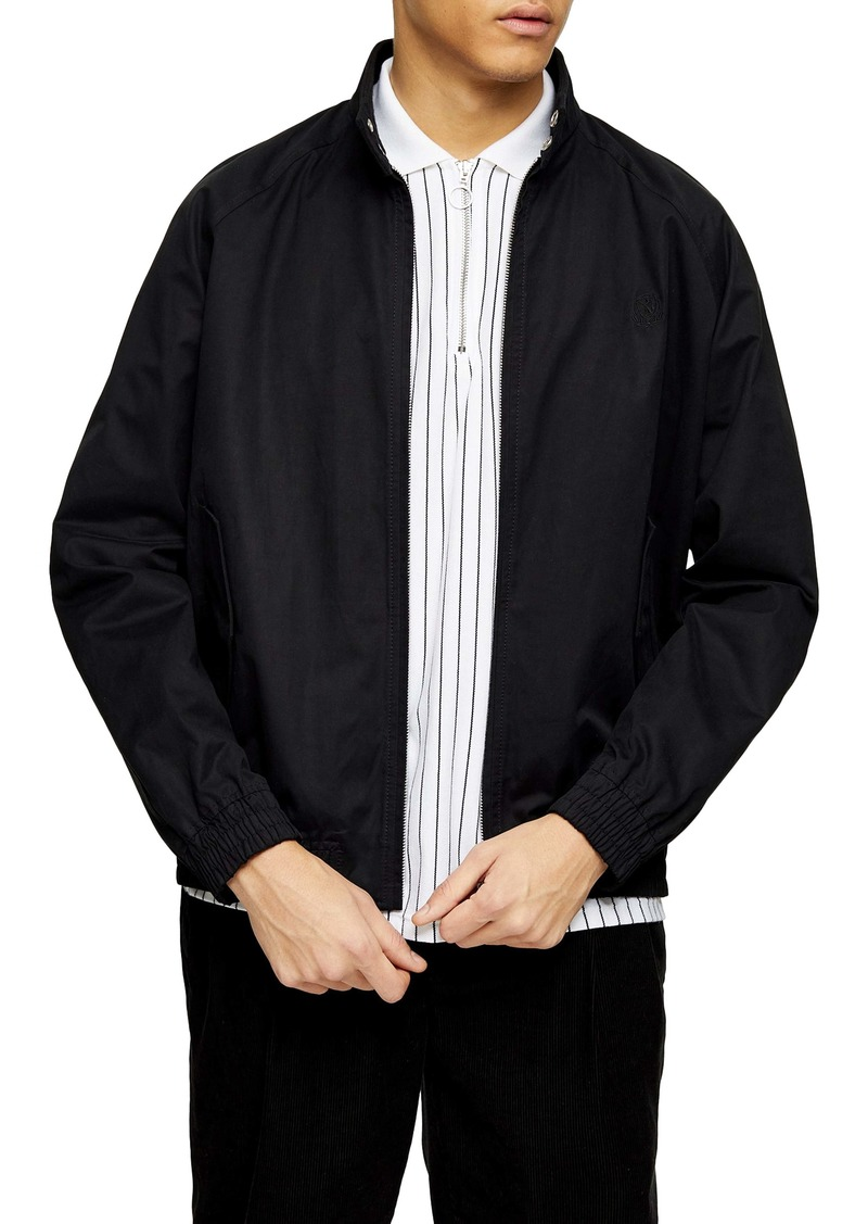 Topman Harrington Stand Collar Jacket