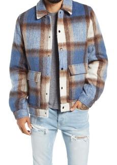 Topman Harry Check Shirt Jacket
