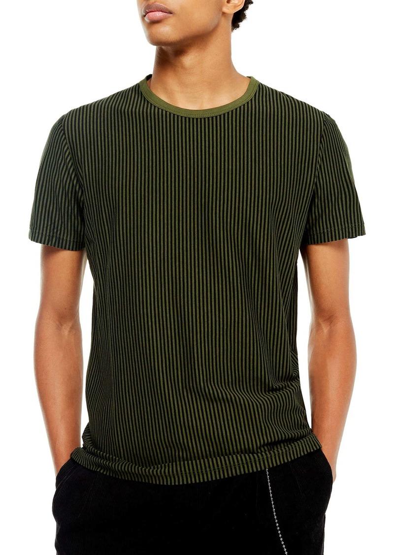 Topman Harry Vertical Stripe T-Shirt