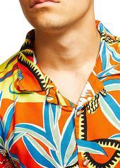 b45ad906 Topman Hawaiian Classic Fit Shirt Topman Hawaiian Classic Fit Shirt