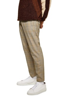 Topman Heritage Check Jogger Pants