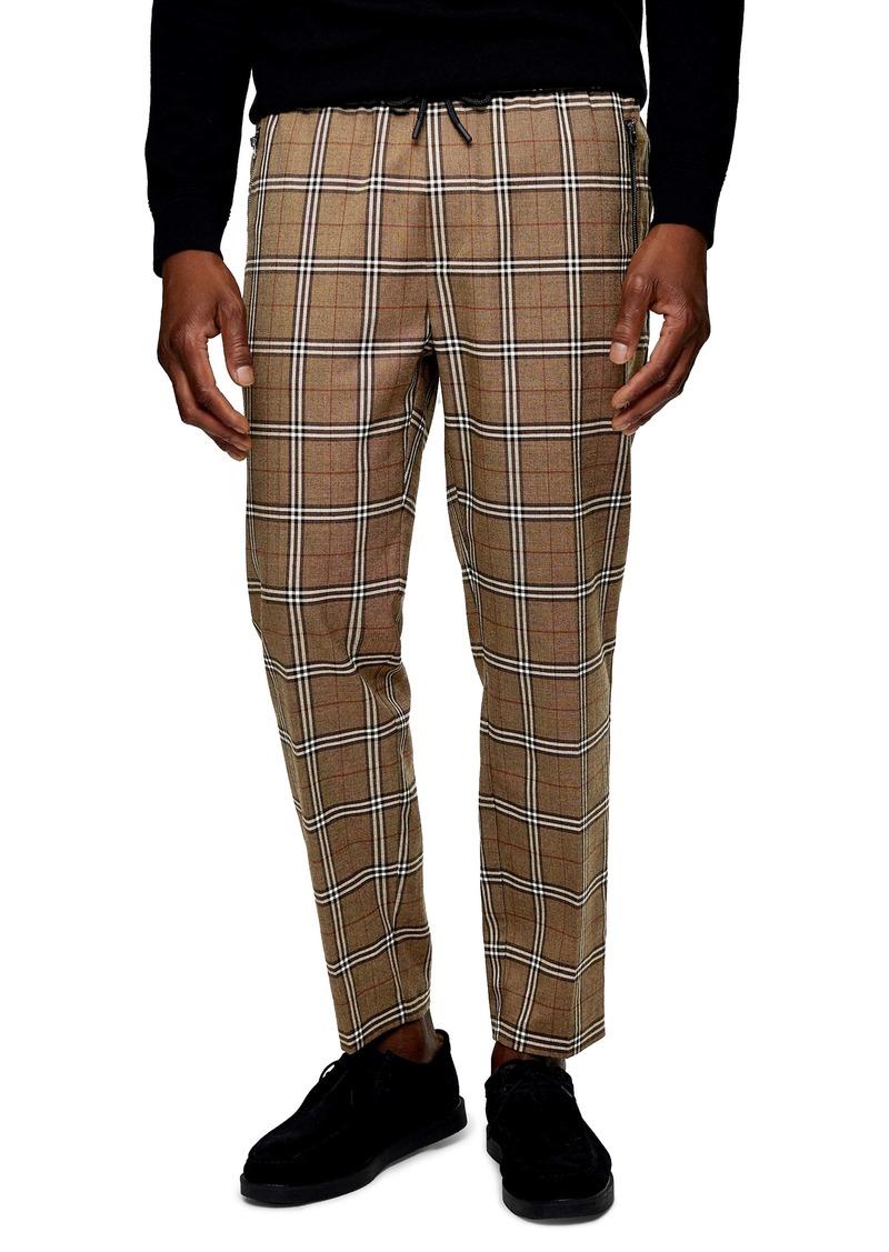 Topman Heritage Plaid Trousers