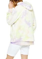 Topman Holi Tie Dye Hooded Sweatshirt
