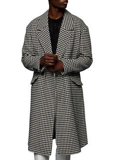 Topman Houndstooth Coat