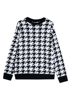 Topman Houndstooth Sweater