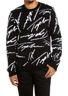 Topman Intarsia Signature Sweater
