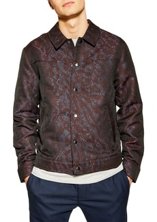 Topman Jacquard Western Jacket