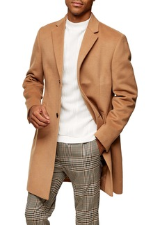 Topman Justin Stretch Top Coat