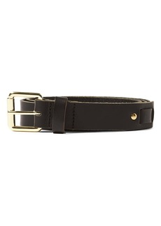 Topman Leather Section Belt