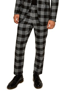 Topman Leigh Classic Check Slim Fit Trousers