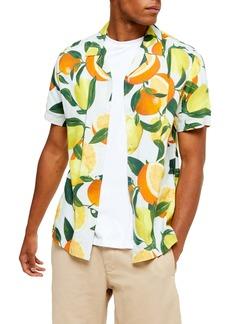 Topman Lemon & Orange Classic Shirt
