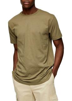 Topman Longline Organic Cotton T-Shirt