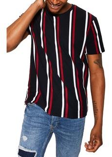 Topman Luke Stripe Classic T-Shirt