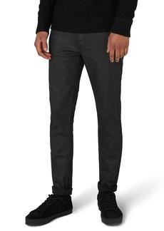 Topman Matte Coat Skinny Fit Jeans