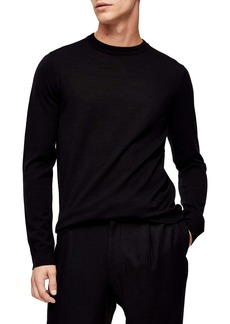 Topman Merino Wool Crewneck Sweater