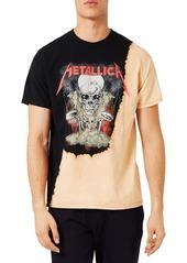Topman Metallica Oversize Graphic T-Shirt