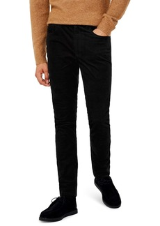Topman Microcord Skinny Fit Pants