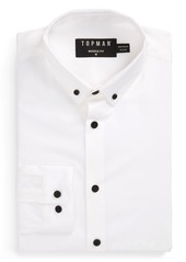 Topman Muscle Fit Smart Shirt
