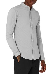 Topman Muscle Fit Stretch Oxford Shirt