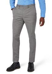 Topman Muscle Fit Suit Trousers