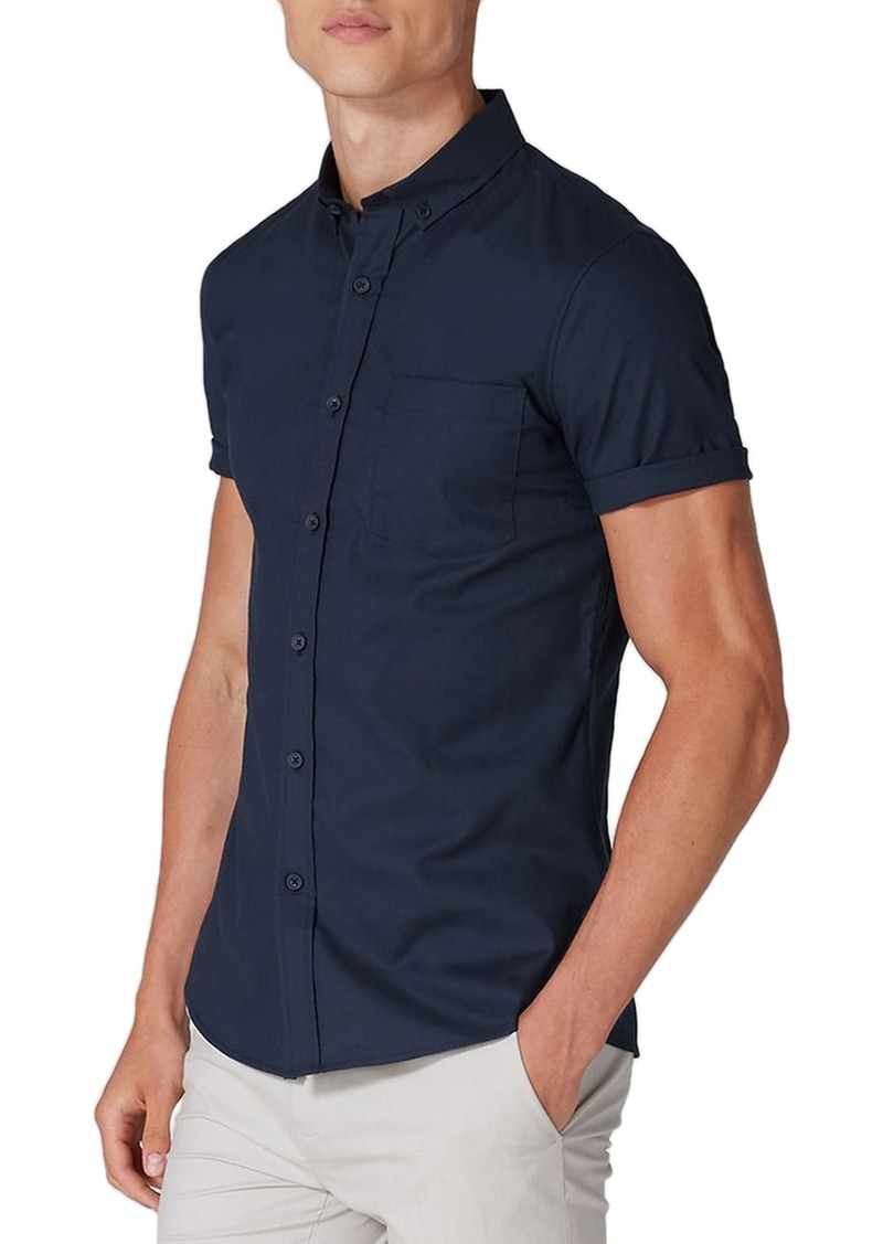 Topman Muscle Fit Woven Shirt