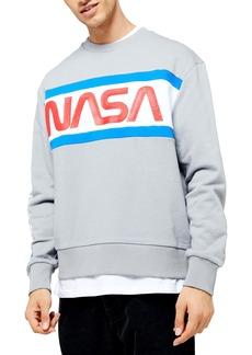 Topman NASA Crewneck Sweatshirt