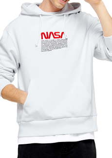 Topman NASA Embroidered Hoodie