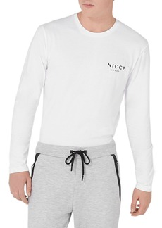Topman NICCE Graphic Long Sleeve T-Shirt