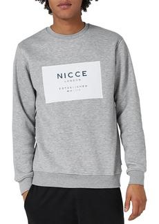 Topman NICCE Logo Patch Sweatshirt