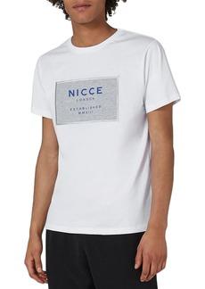 Topman NICCE Logo Patch T-Shirt