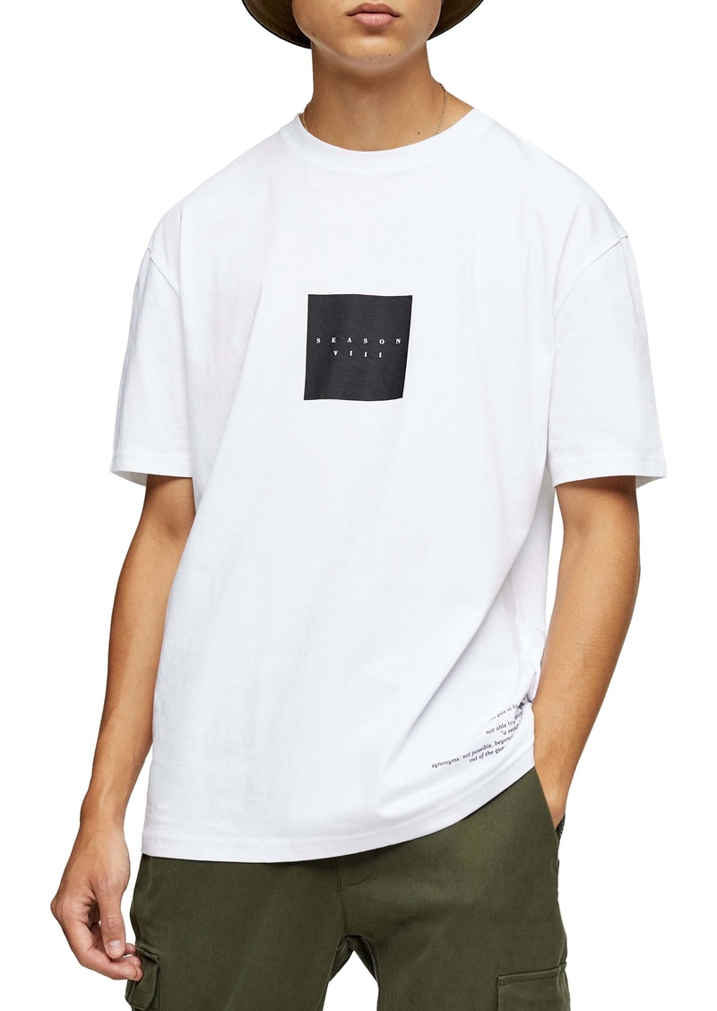 Topman Now or Never Graphic T-Shirt
