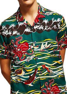 Topman Octopus Classic Fit Shirt