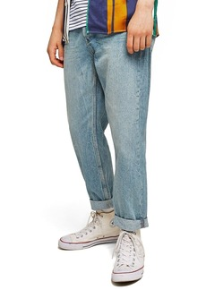 Topman Original Fit Straight Leg Jeans
