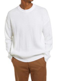 Topman Oversize Crewneck Sweater