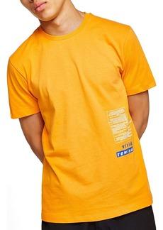 Topman Oversize Refresh Graphic T-Shirt