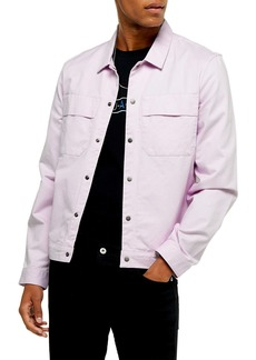 Topman Oversize Shirt Jacket