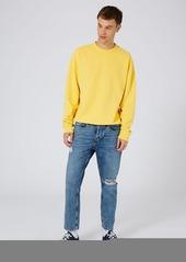 Topman Oversized Crewneck Sweatshirt