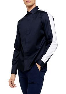 Topman Panel Slim Fit Shirt